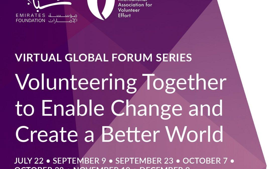 IAVE Virtual Global Forum Series