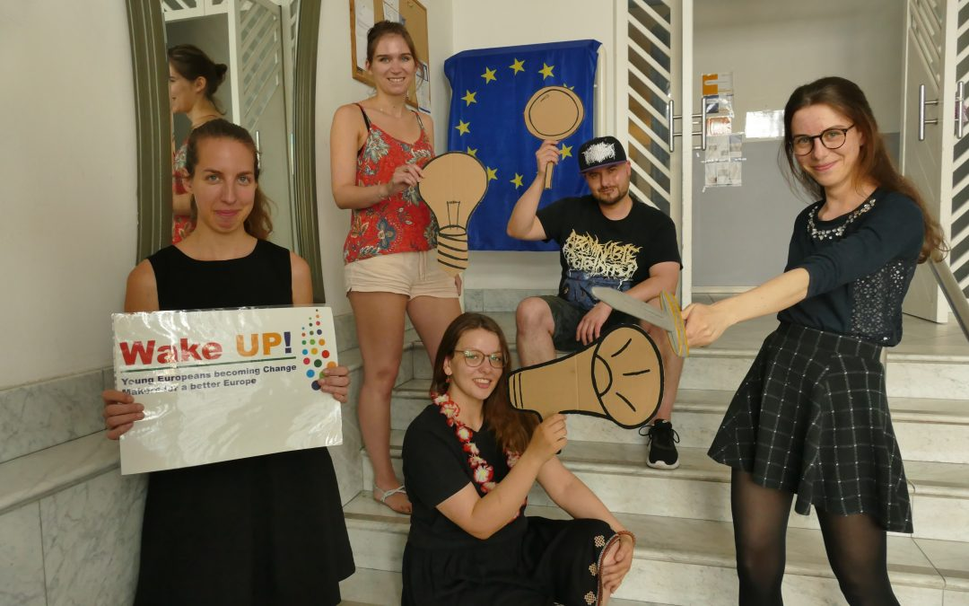 Member Update: Wake Up! project helps young people become change makers for a better Europe