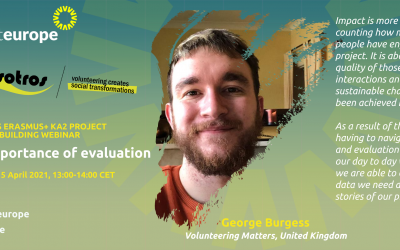 The importance of evaluation: capacity-building webinar